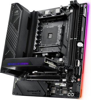 Материнская плата Asus ROG Crosshair VIII Impact (sAM4, AMD X570, PCI-Ex16)