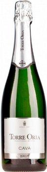 Вино игристое Torre Oria Cava Brut белое брют 0.75 л 11.5% (8410744000013)