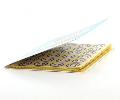 Набор наклеек на патроны в книжке 7dayslabel d=18 мм Разноцветный