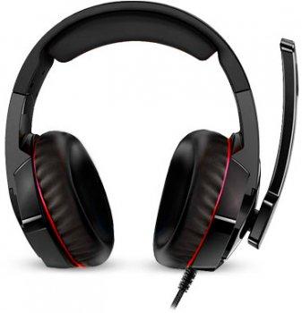 Навушники Real-El GDX-7800 Black-Red 7.1 Virtual (EL124100027)