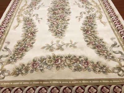 європейський килим класичного стилю з вовни, ручна стрижка з Китаю 200x300 (25459 R-14 129/395 3000X2000)