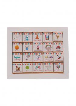 Шоколадный набор Shokopack XL ко дню рождения 20 х 5 г Молочный 100г