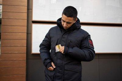 Мужская зимняя куртка Kraft Tactical 2.0 Черная