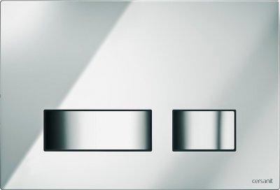 Панель смыва CERSANIT Movi S97-026 хром глянцевый
