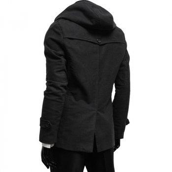 Пальто Chernyy Kot Coat 8419 BLACK Чорний