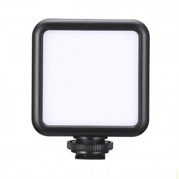"""Накамерный свет Ulanzi VL49 LED для профессиональной видеосъемки холодный башмак с резьбой 1/4"""" мощность 6 Вт"""