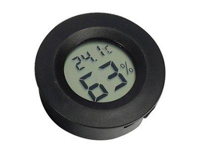 Гигрометр Aidee С термометром Цифровой Черный (1005-978-00)