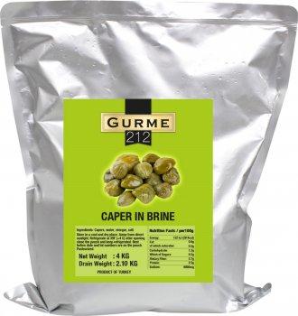 Каперсы Gurme 212 4 кг (8680697445579)