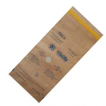 Крафт-пакети для стерилізації Алвін ПБСК, 50 x 170 мм, 100 шт.