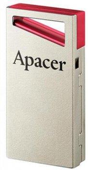 Apacer AH112 64GB USB 2.0 Silver-Red (AP64GAH112R-1)