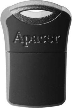 Apacer AH116 64GB USB 2.0 Black (AP64GAH116B-1)
