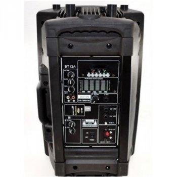 """Акустическая караоке аудио система аккумуляторная колонка JIN 15"""" 1 радио микрофон USB FM PLUS портативная аккумуляторная колонка музыкальный центр"""