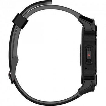 Розумні смарт годинник з вбудованим компасом Kingwear FS08 Чорні (FS08)