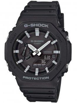 Годинник Casio GA-2100-1AER G-Shock 45mm 20ATM