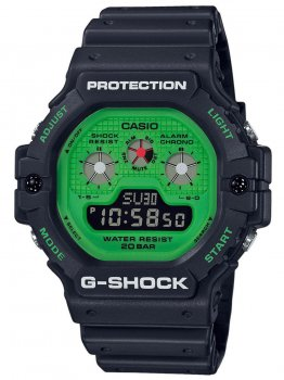 Годинник Casio DW-5900RS-1ER G-Shock 47mm