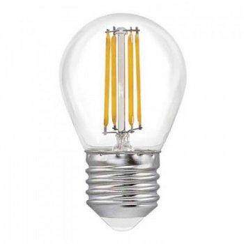 Світлодіодна лампа Strong Led Light G45 4W (400Lm) 3000K прозора (ALD-BLG45036C E27)