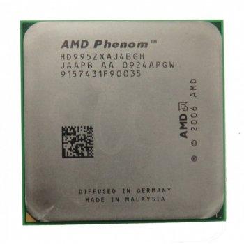 Процесор AMD PHENOM X4 9950 Black Edition 4 ЯДРА, 2,6 GHz sAM2+ Tray ( HD995ZXAJ4BGH )