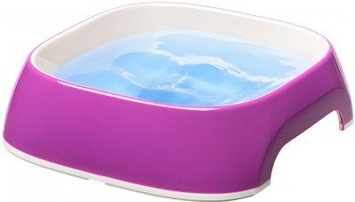 Пластикова миска Ferplast для собак і кішок Glam Medium 750 мл Фіолетова (71214019)