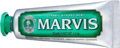 Зубная паста Marvis классическая интенсивная мята 25 мл (8004395110063/8004395111305)