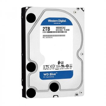 Накопичувач HDD SATA 2.0 TB WD Blue 5400rpm 256MB (WD20EZAZ)