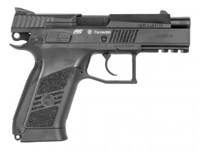 Пістолет пневматичний ASG CZ 75 P-07 Duty Blowback. Корпус - метал. 23702520