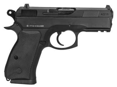 Пістолет пневматичний ASG CZ 75D Compact. Корпус - метал. 23702522
