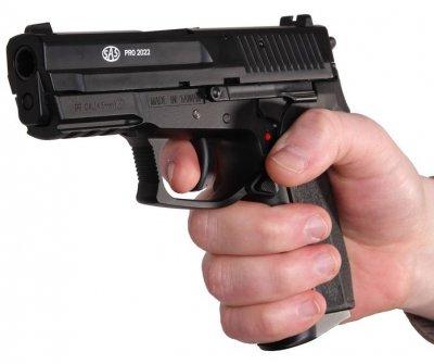 Пістолет пневматичний SAS (Sig Sauer Pro 2022). Корпус - пластик. 23701425