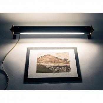 Підсвічування для картин і дзеркал для вітальні, спальні, офісу, кафе, передпокою, ванної 3325 алюміній чорний/сірий коричневий PikArt