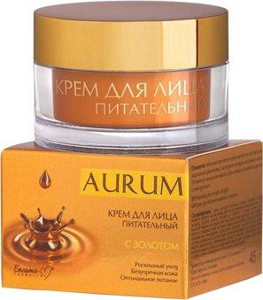 Крем питательный для лица Белита-М Aurum с Золотом 45 г (4813406004291)
