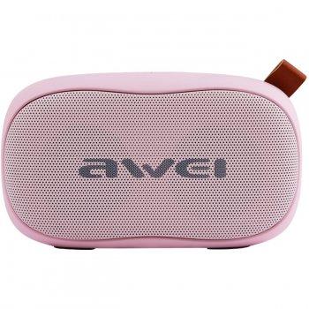Портативна акустична система AWEI Bluetooth Y900 Pink