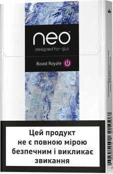 Блок стиків для нагрівання тютюну GLO NEO STIKS Boost Royale 10 пачок (4820215621038)