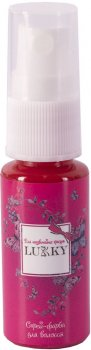 Спрей-краска для волос Lukky малиновая (T15380)