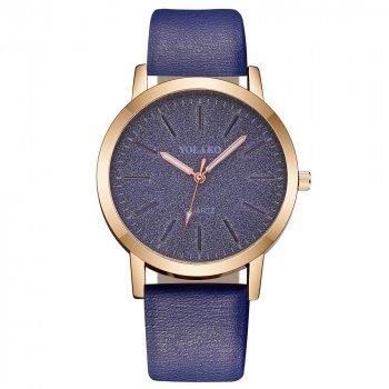 Женские классические часы Yolako, циферблат - синий, арт. (7754913)