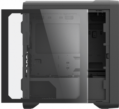 Корпус Zalman M3 Plus Black Tempered Glass