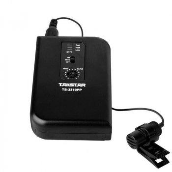 Радіомікрофон з одним наголовним і двома петличні мікрофони Takstar TS-3310PP (0964)