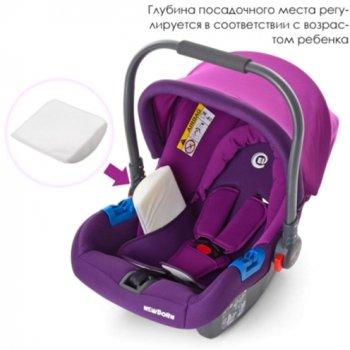 Автокрісло El Camino ME 1009-2 0-13 кг Newborn Purple (ME 1009-2 NEWBORN purple)