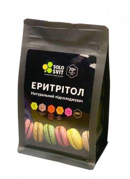 Заменитель сахара Solosvit Солосвіт Эритритол, 500 г(4820217710228)