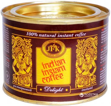 Упаковка кофе растворимого JFK Delight 45 г х 3 шт (922320)