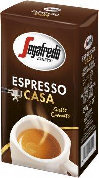 Кофе молотый Segafredo Espresso Casa 250 г (476) (8003410344117)