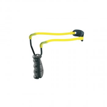 Рогатка Man Kung MK-T9 ц:черный/желтый. 1000076