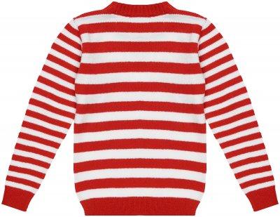Джемпер TopHat 20013 Червоно-білий в смужку