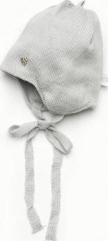 Демисезонная шапка Модный карапуз 03-00921 36-38 см Светло-серый (4824126439218)