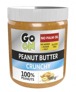 Go On Nutrition Peanut butter crunchy 500гр (стекло)