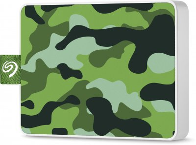 "Seagate One Touch SSD 500GB 2.5"" USB 3.0 Camo Green (STJE500407) External"