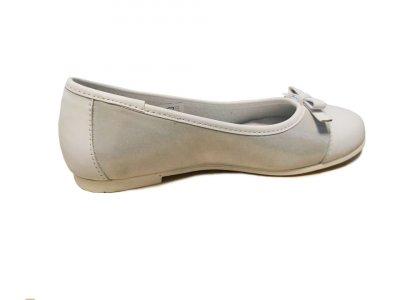 Дитячі балетки-туфельки Renbut 33-4295 білого кольору