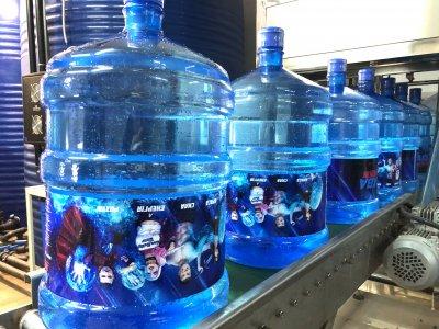 Вода артезианская бутилированная, пакет «АКВАзалежний Дім» 2 бутыли по 18,9 л