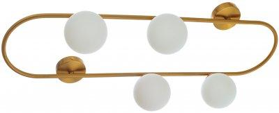 Світильник настінно-стельовий Brille BL-876C/4 G9 BZ (29-171)
