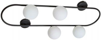 Світильник настінно-стельовий Brille BL-876C/4 G9 BK (29-172)