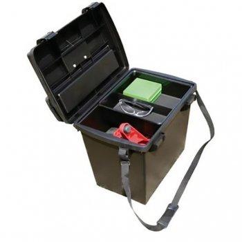 Коробка универсальная MTM Sportsmen's Plus Utility Dry Box с плечевым ремнем. Цвет - черный. 17730865