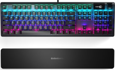 Клавіатура дротова SteelSeries Apex 5 USB (SS64532)